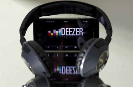 Deezer - fonctionnalité Flow